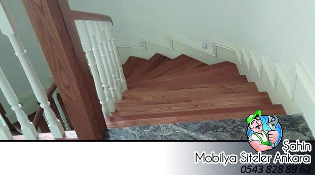 Ahşap Merdiven İmalatı Hızlı Teslimat